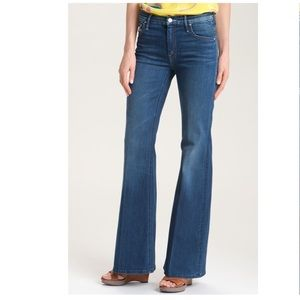 Mother Flare Jeans Mellow Drama Stretch Denim 27